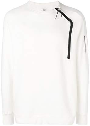 C.P. Company zip detail sweatshirt