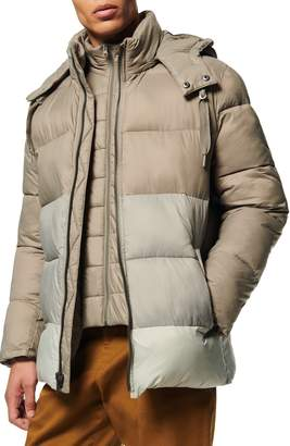 Andrew Marc Dovers Water Resistant Quilted Coat