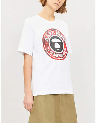 Aape Now cotton-jersey T-shirt