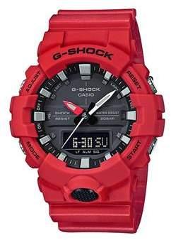 G-Shock Ga800 Red Watch