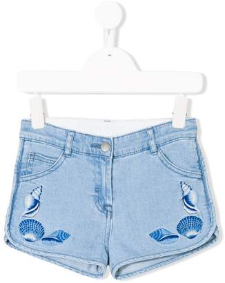 Stella McCartney Emma denim shorts