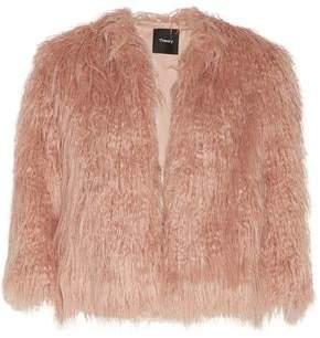 Theory Faux Fur Jacket