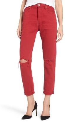 Women's Citizens Of Humanity Liya High Waist Slim Boyfriend Jeans