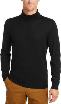 Club Room Men Merino Wool Turtleneck