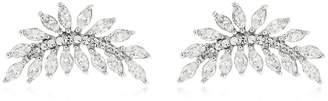 Silver Palme Earrings