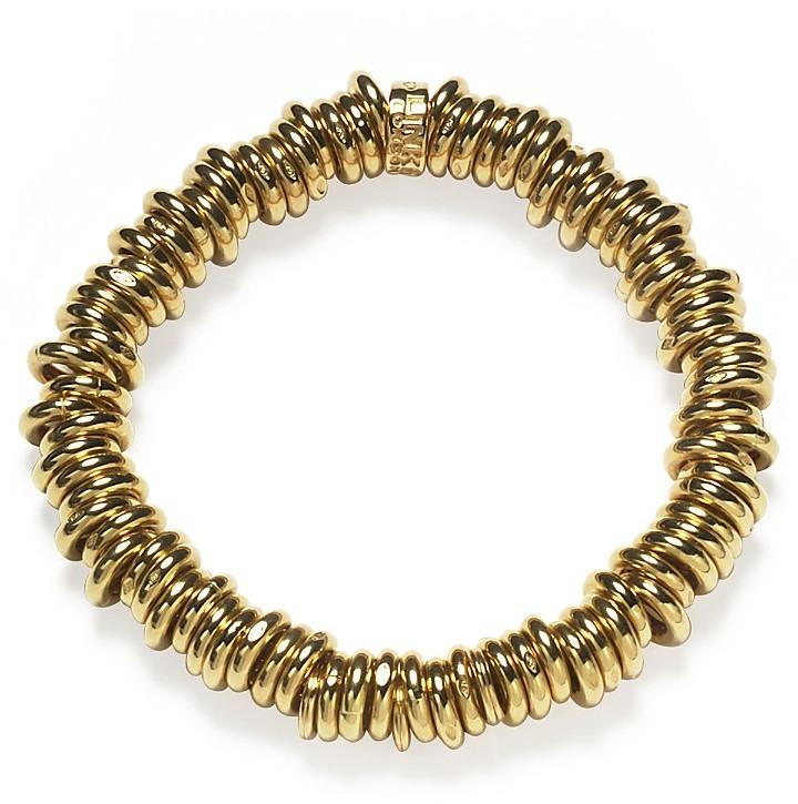 Links of London Yellow Gold Starter Charm Bracelet