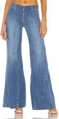 Free People Drapey A Line Pull On Jean.