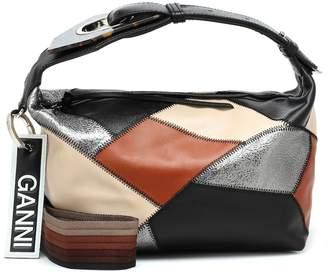 Ganni Leather shoulder bag