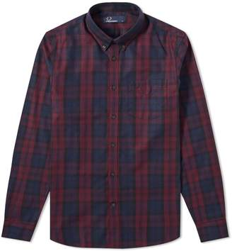 Thom Browne Fred Perry Winter Tartan Shirt