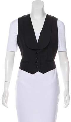 Christian Dior Wool Button-Up Vest