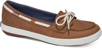 Keds Women's Glimmer Ortholite Slip-On Leather Sneakers Women's Shoes