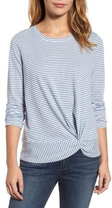 Caslon Long Sleeve Front Knot Tee