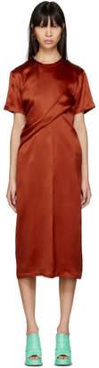 Waverly Sies Marjan Orange Twist Dress