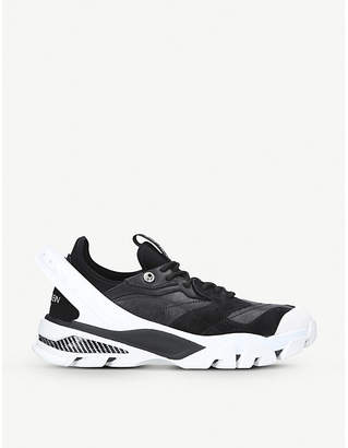 Calvin Klein Collection Carlos 52 leather and suede trainers