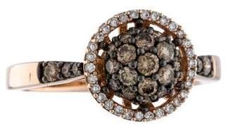 Le Vian 14K Diamond Halo Ring $1,125 thestylecure.com