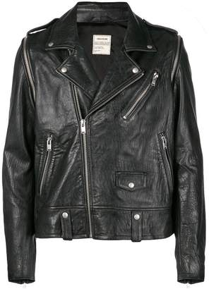 Zadig & Voltaire Zadig&Voltaire Fashion Show traditional biker jacket