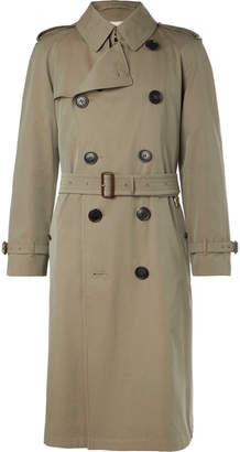 Burberry Shadwell Cotton-Gabardine Trench Coat