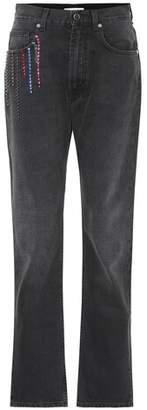 Christopher Kane Embellished straight jeans
