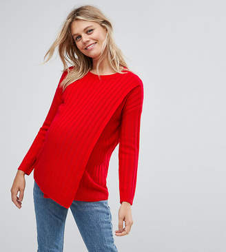 Asos NURSING Lace Up Back Sweater