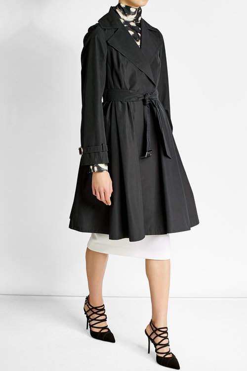 Max Mara Max Mara Trench Coat with Cotton