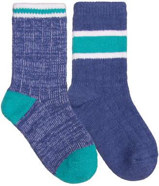 Cuddl Duds 2 Pair Crew Socks