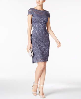 Alex Evenings Petite Lace Sheath Dress