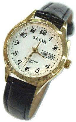 Crepha (クレファー) - [クレファー]CREPHA 婦人用腕時計 アナログ表示 デイデイト 10気圧防水 ホワイト TEV-1208-WT レディース