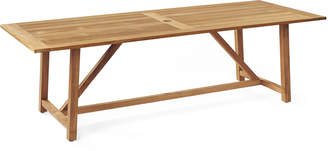 Serena & Lily Crosby Teak Dining Table