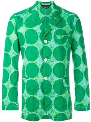 Comme des Garcons Pre-Owned circle print jacket