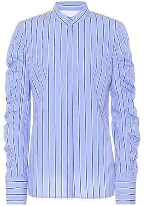 Victoria Beckham Victoria Striped cotton poplin shirt