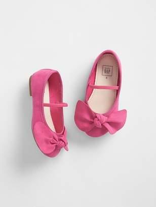 Gap Knot-Bow Ballet Flats