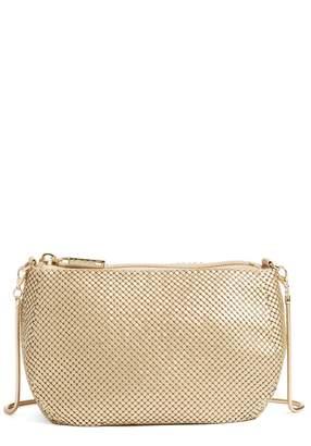 Whiting & Davis 'Matte' Mesh Crossbody Bag