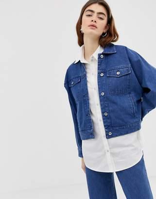 Kowtow Formation Boxy Denim Jacket in Organic Cotton