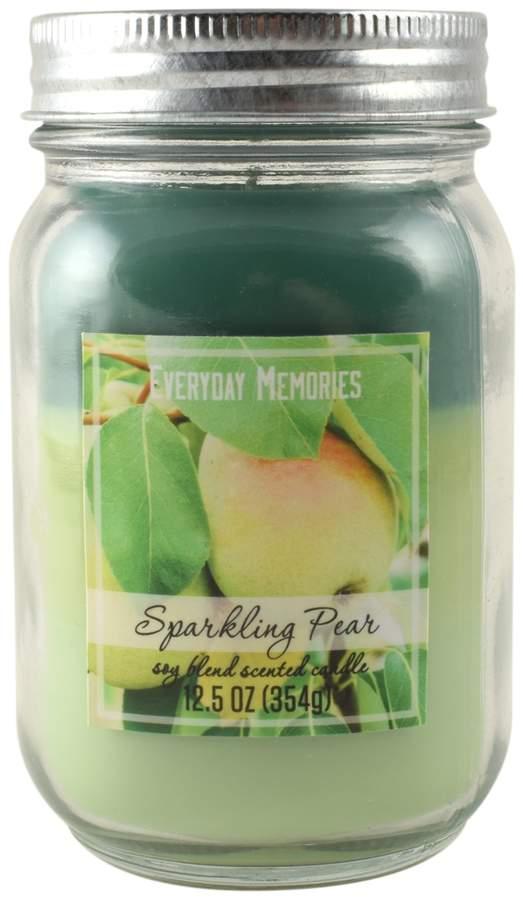 Everyday Memories Sparkling Pear 12.5-oz. Tri-Pour Candle Jar