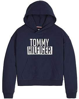 Tommy Hilfiger Essential Logo Hoodie (Girls 8-14 Years)