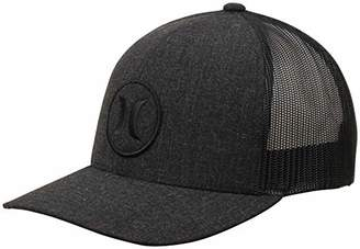 Hurley Men's Logo Patch Curved Bill Trucker Baseball Cap