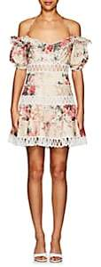 Zimmermann Women's Melody Floral Linen-Cotton Dress
