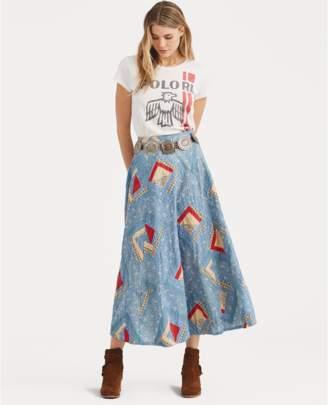 Polo Ralph Lauren Patchwork Cotton Skirt