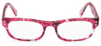 Corinne Mccormack Cindy Square Readers, 48mm $62 thestylecure.com