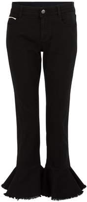 Stella McCartney Stella Mc Cartney Cropped flared jeans