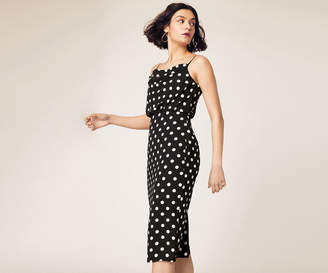 9064d46c1af White Cowl Neck Dress - ShopStyle Australia
