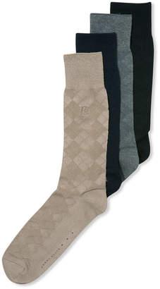 Perry Ellis Men Socks, Diamond Single Pack