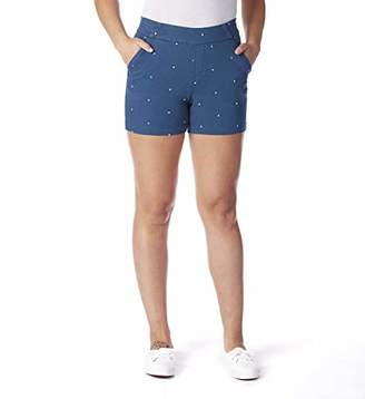 "Jag Jeans Women's Gracie Polka Dot Pull on 5"" Short"