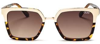 Quay Women's x Jaclyn Hill Upgrade Square Sunglasses, 55mm