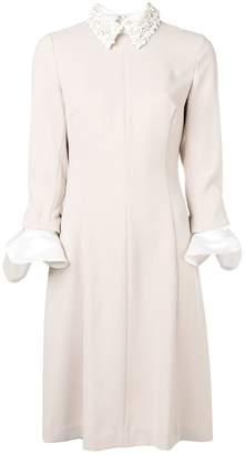 Steffen Schraut long-sleeve fitted dress