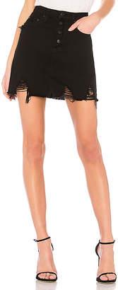 Nobody Denim Piper Skirt Exposed.