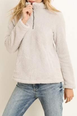 Hem & Thread Half Zip Pullover