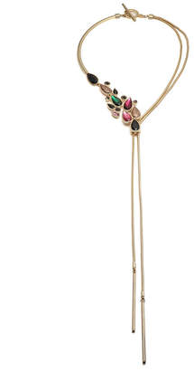 Trina Turk ANOTHER ROUND CASCADING STONE NECKLACE