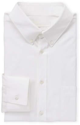 Alexander McQueen White Tab Sleeve Button-Down Shirt