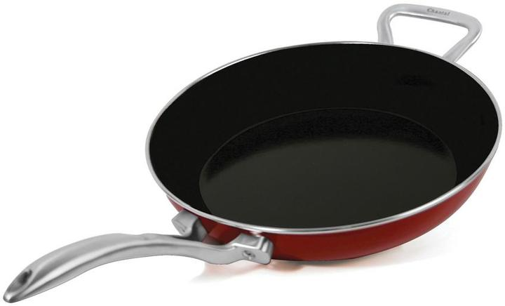 ChantalChantal 10 in. Copper Fusion Pan in Chili Red